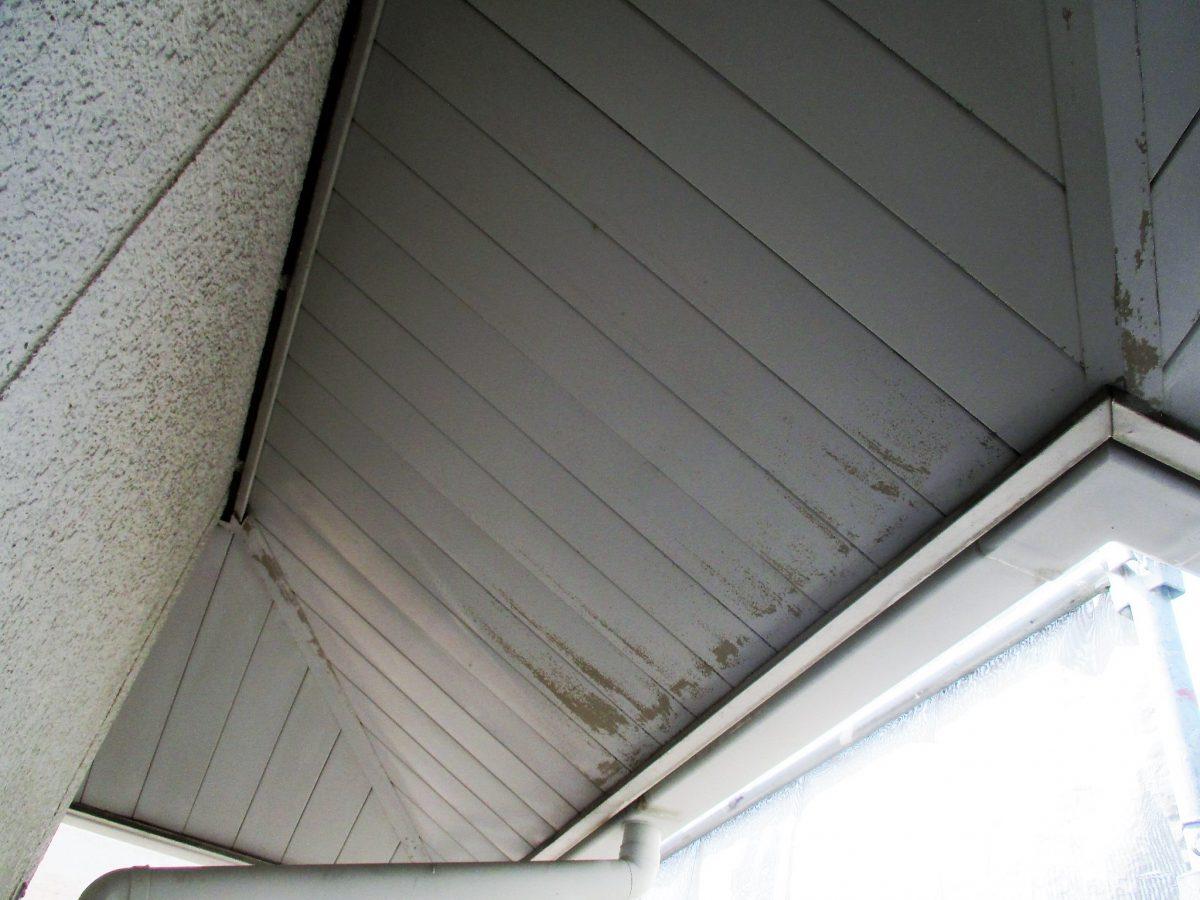 軒天井 塗装前