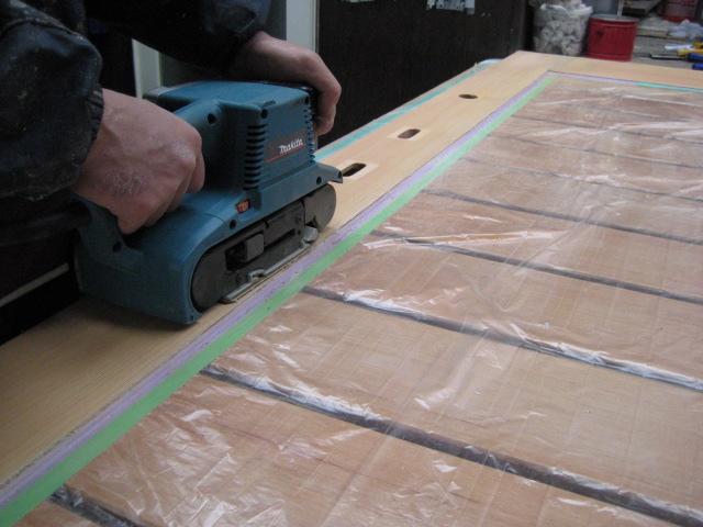 荒削り作業 電動工具使用⑬