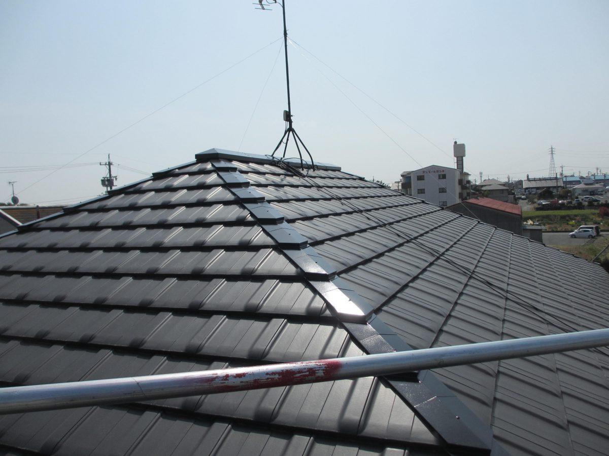 3,1大屋根塗装完了